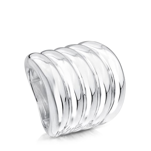 Cactus Ring in Silver.