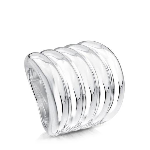 Ring Cactus aus Silber.