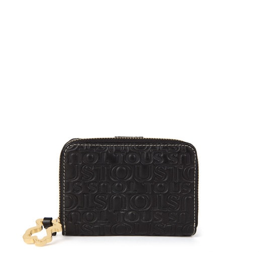 Leather Urbana Logo change purse