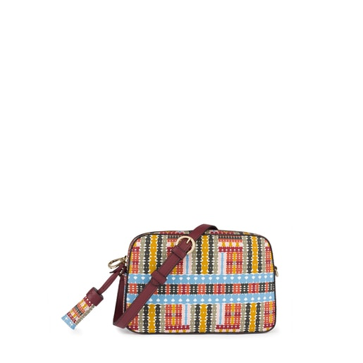 Multi-burgundy Alicya Crossbody-waistbag