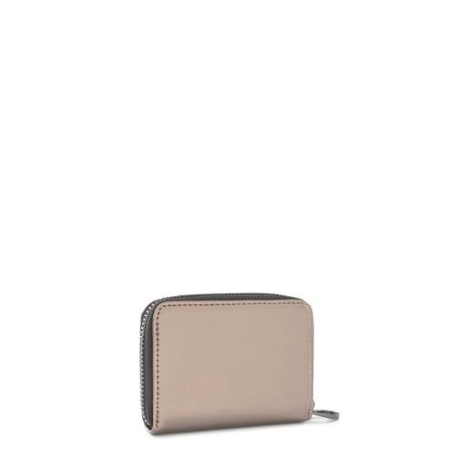 Medium gray Dorp Change purse