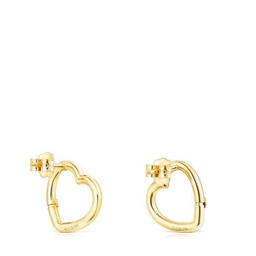 Hold Gold heart Earrings