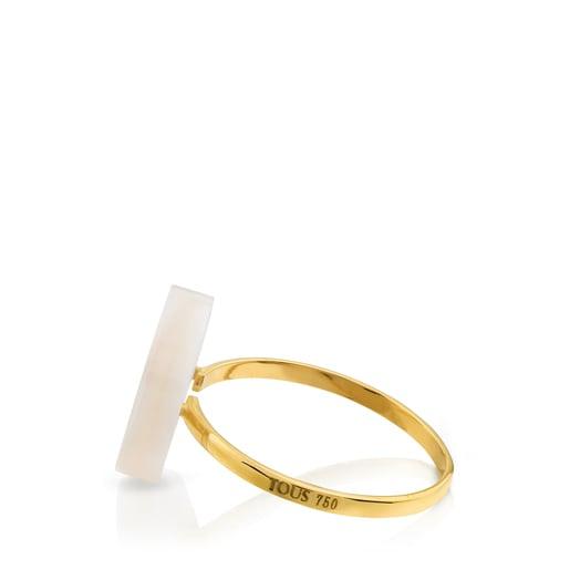 Gold Göz Ring