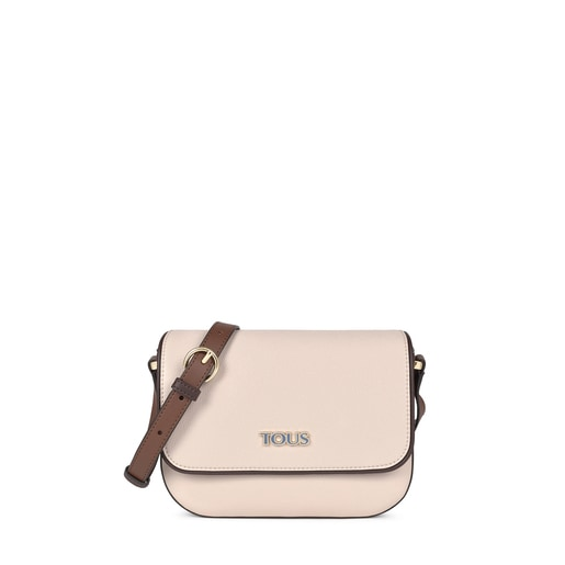 Beige and brown TOUS Essential Crossbody bag