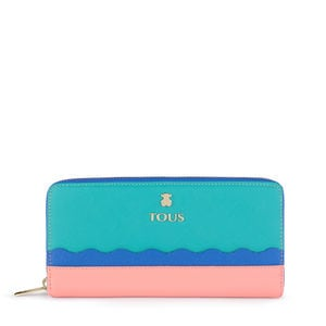Medium green-blue Carlata Wallet