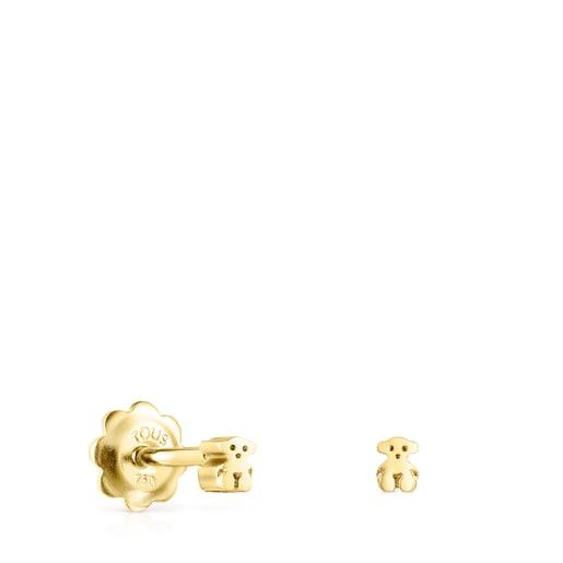 Straight Earrings in Gold