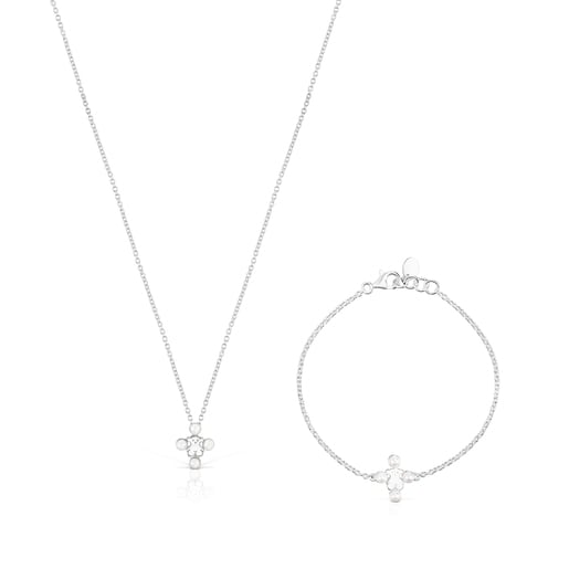 Pack Real Sisy de plata y perlas - Exclusivo online