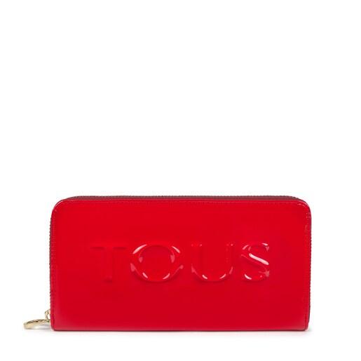 Medium red and pink Grata Dorp Wallet