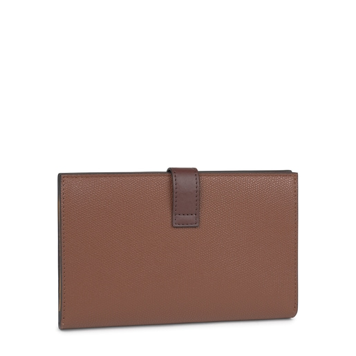 Medium brown and mustard TOUS Essential Wallet