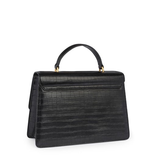 Black Hold Exotic city bag