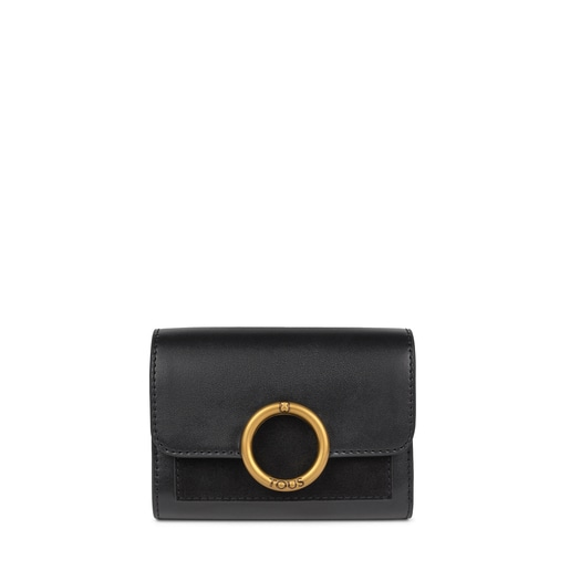 Small black Audree Wallet