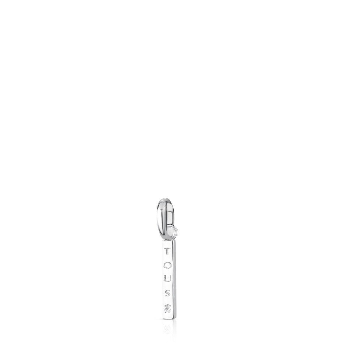 Colgante Toussi barra de plata