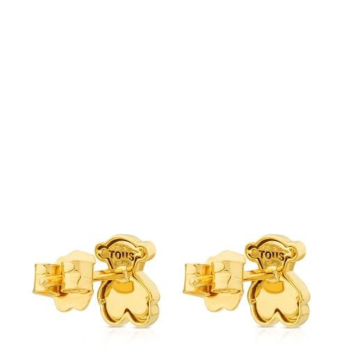 Gold Flora Earrings