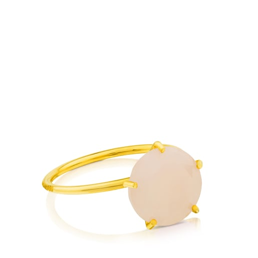 Ivette Ring in Gold with Opal