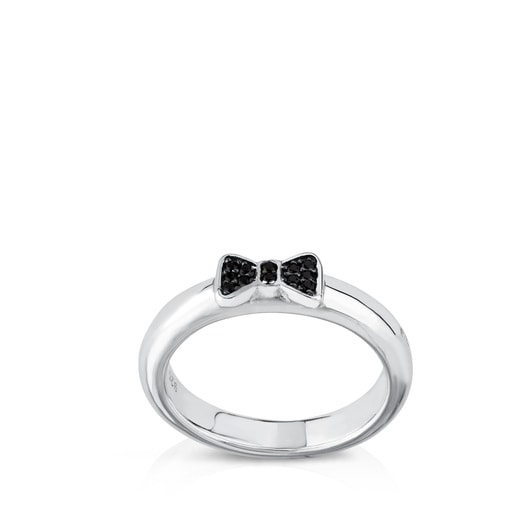 Silver Gen Ring with Spinel