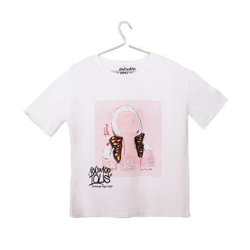 White T-shirt Tous Rodrigo Vega