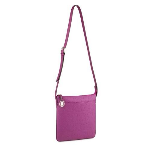 Bandolera Welly en color violeta