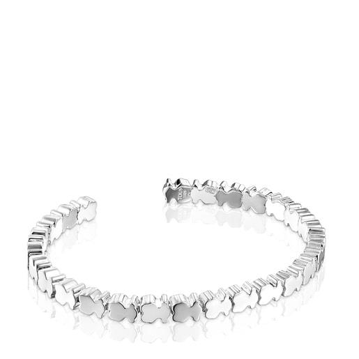 Bracelet Straight oursons en Argent