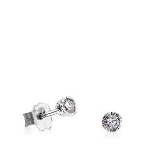 White gold and Diamonds Boca Osos Earrings
