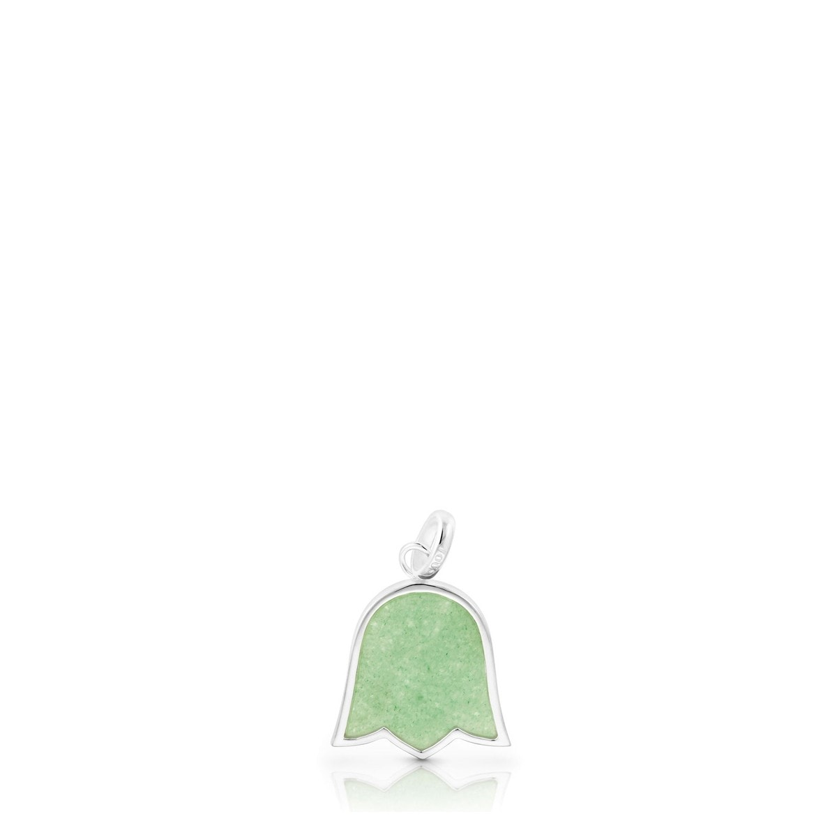 Silver Rainbow Pendant with Aventurine