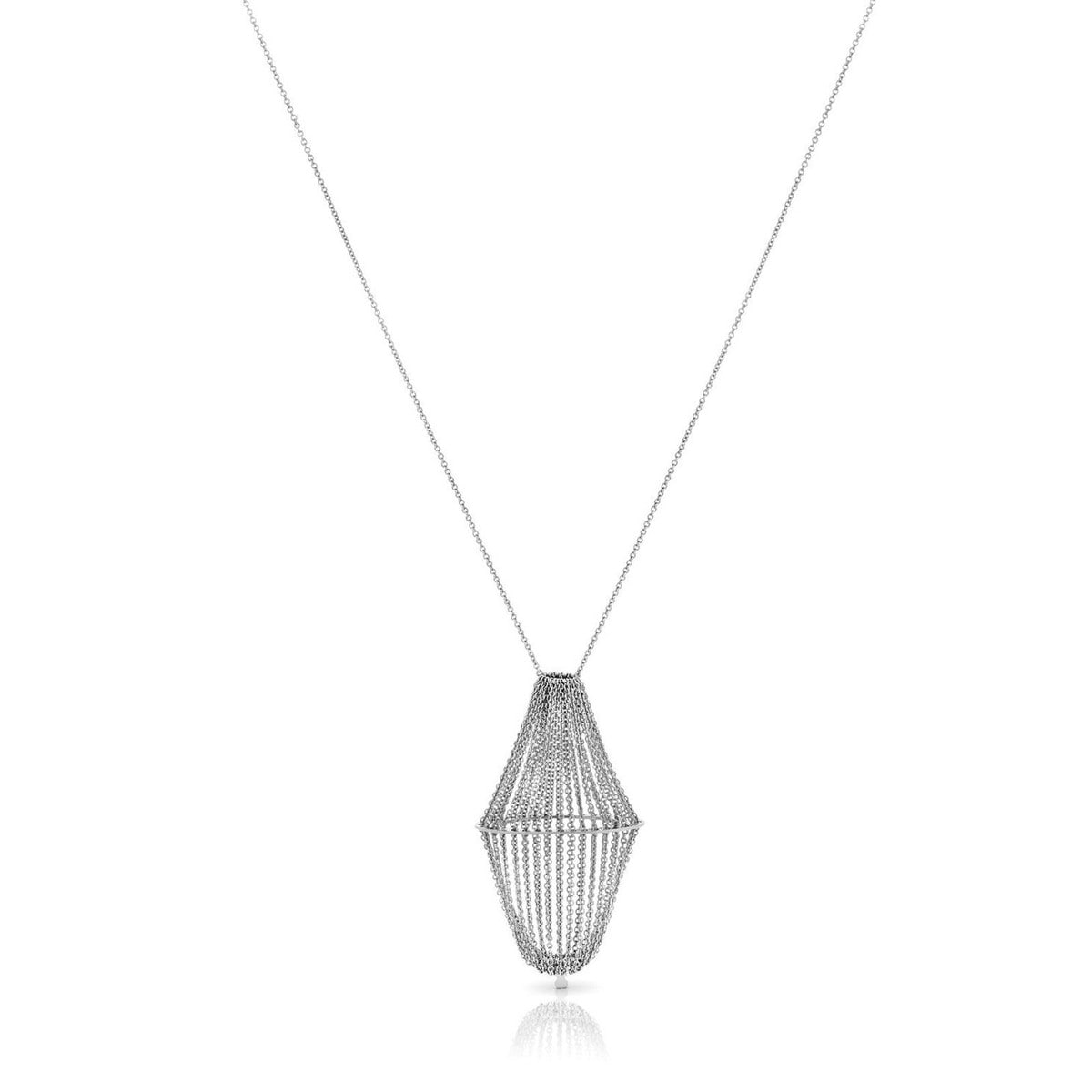 Silver Tesoro Necklace