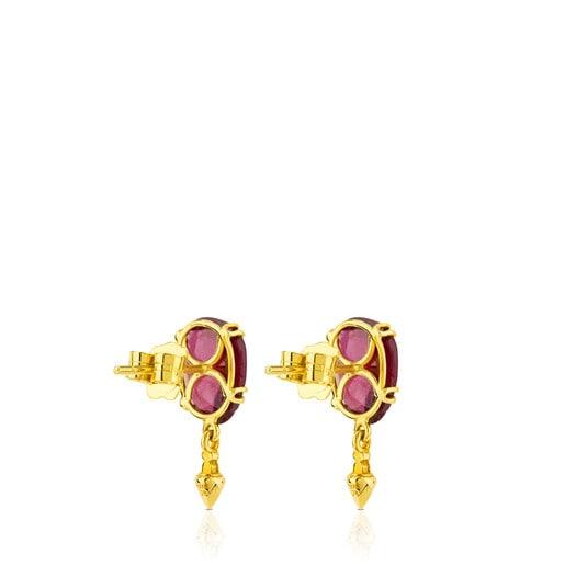 Gold Beethoven Earrings