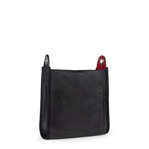 Small black Leather Leissa Shoulder bag