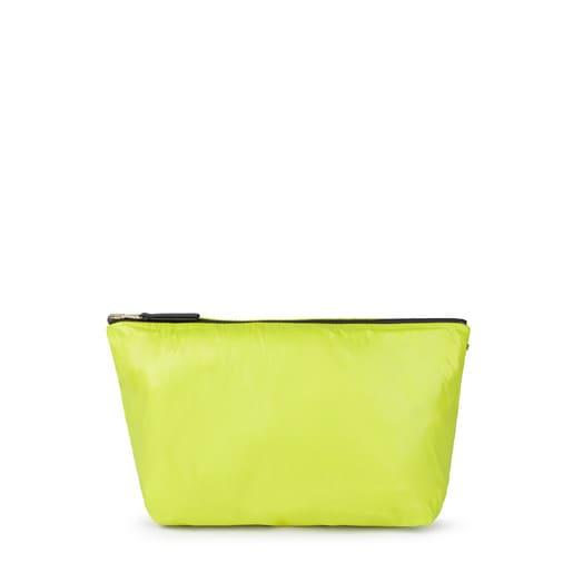 Reversible medium pistachio-coral Kaos Shock bag