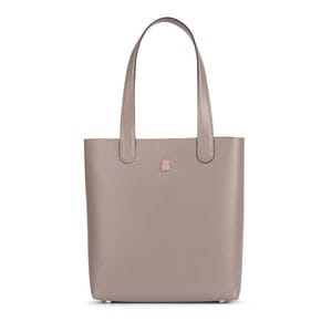 Shopping Melly de Piel en color topo