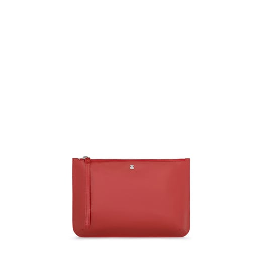 Clutch/Portefeuille Dorp Rouge