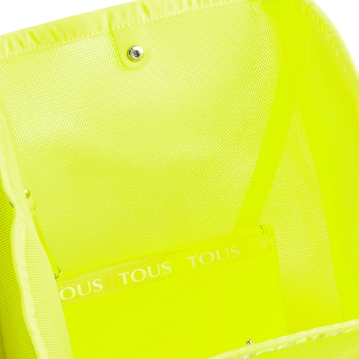Fluorescent Yellow T Colors Collection Shopping Bag