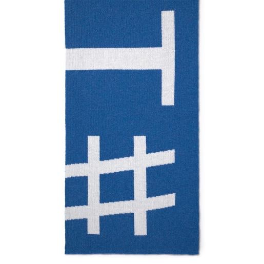Bufanda Tous Lovers Jcq azul