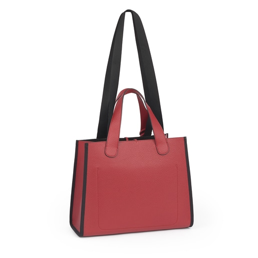 Medium red Leather Leissa Tote bag