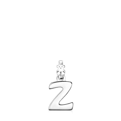 Μενταγιόν Alphabet από ασήμι με το γράμμα Z