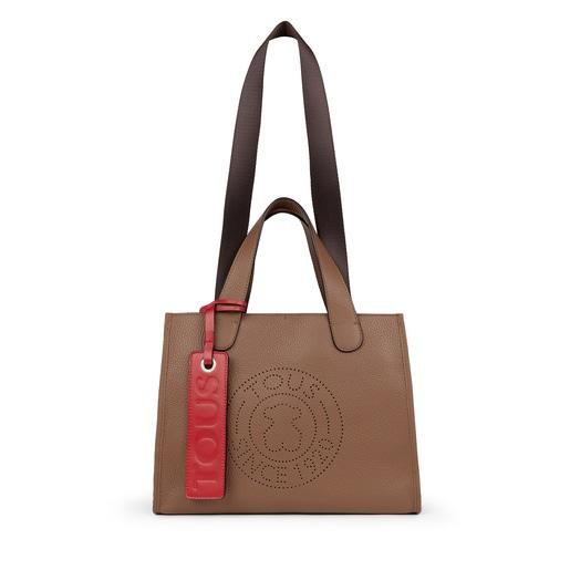 Medium brown Leather Leissa Tote bag