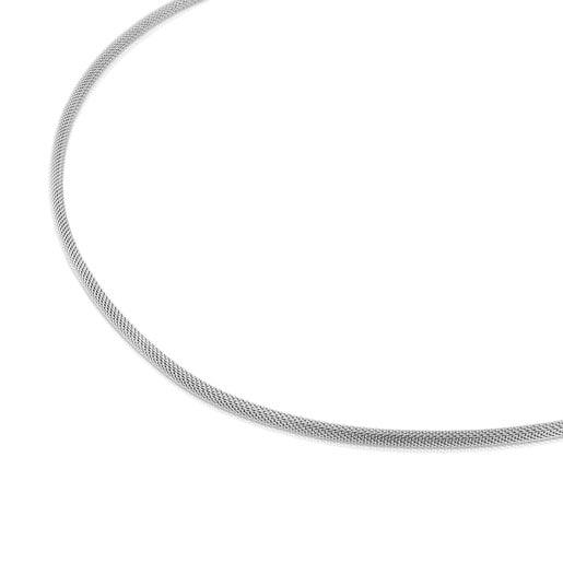 Collier ras du cou TOUS Chain en Acier, 40cm.