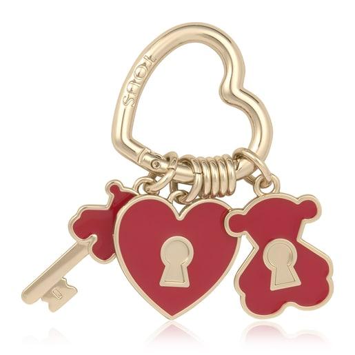 Porta-chaves Love Vermelho