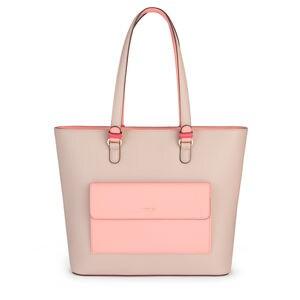 Capazo Essence beige-rosa
