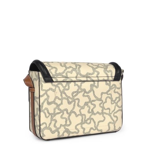 Medium Kaos Icon Multi Beige - Black Shoulder Bag