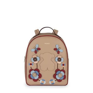 Taupe colored Vera Backpack