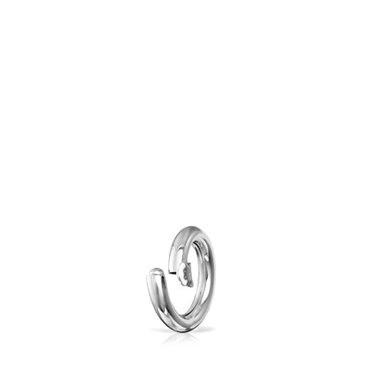 Small Silver Hold Ring