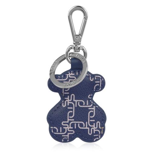 Μπλε μπρελόκ Logogram με Αρκουδάκι