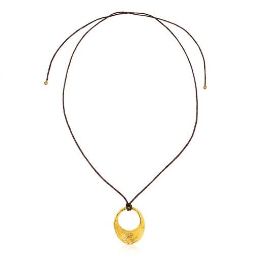 Vermeil Silver Nandi Necklace