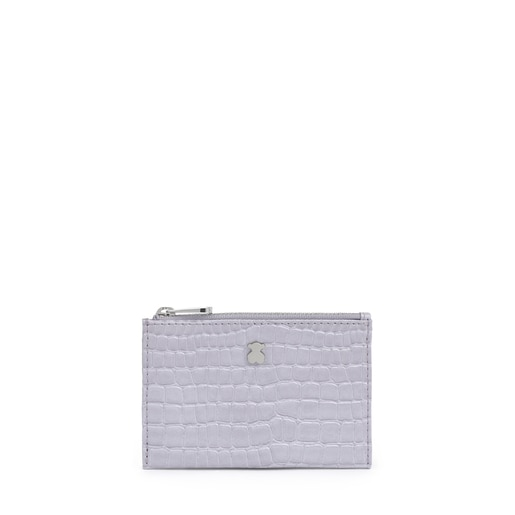 Lilac Dorp Exotic Change Purse-Cardholder