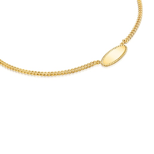 Silver Vermeil Minne Necklace