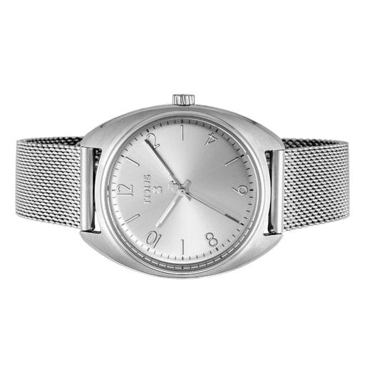 Steel Retro Watch