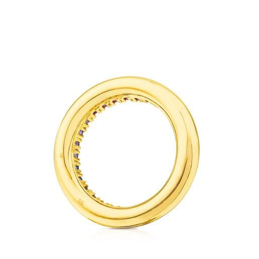 Ring Lio aus Gold mit Edelsteinen