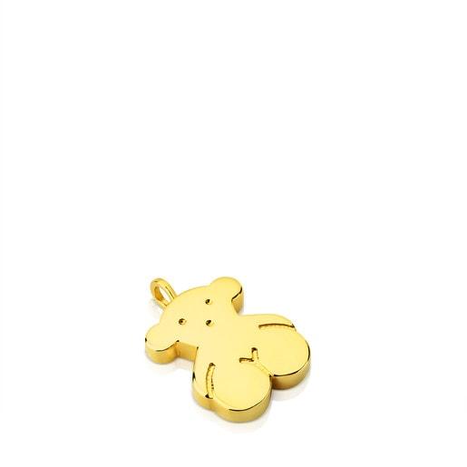 Colgante Sweet Dolls de Oro motivo Oso grande