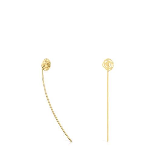 ATELIER Gold Rosa de Abril earrings