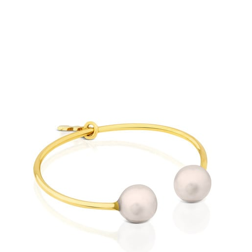 Gold with Pearl Eklat Ring